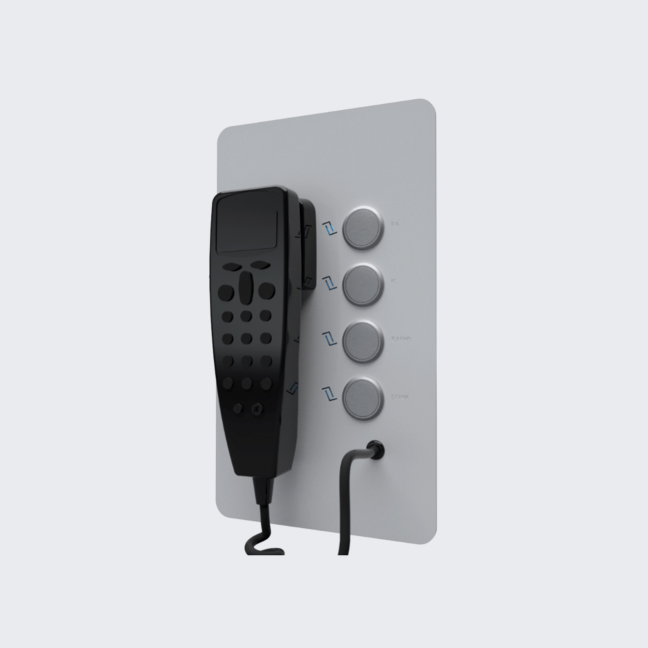 TRAIN INTERCOM UNIT (TIU)