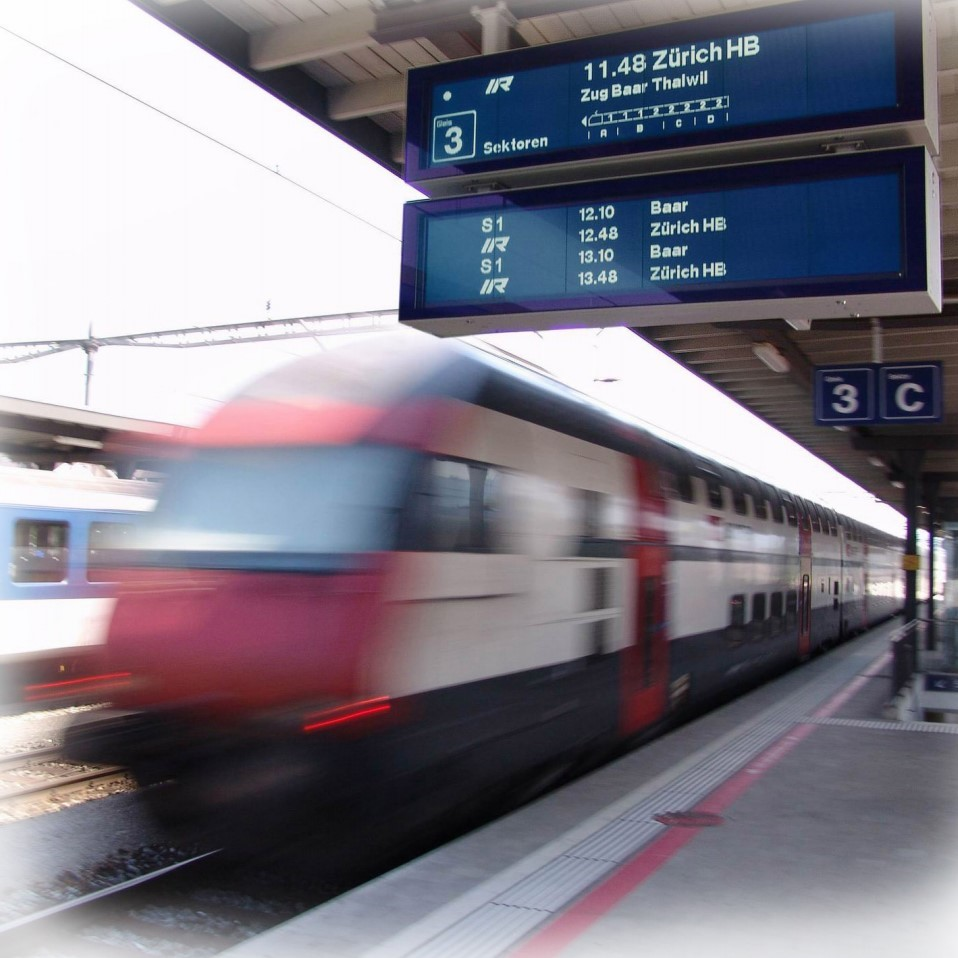 RAIL PLATFORM DISPLAYS