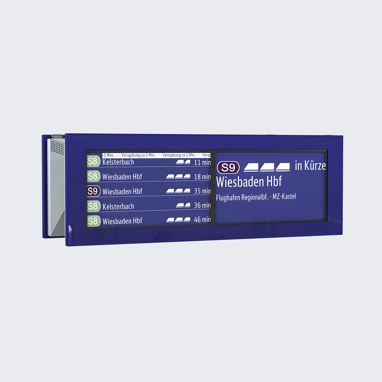 ZIM Information Monitor, 2 x 32'' TFT, Double-Sided